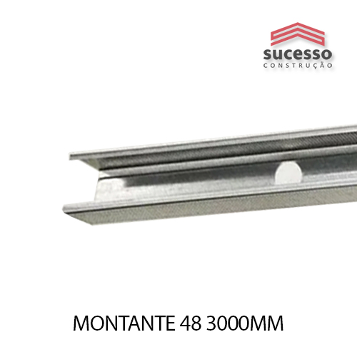 MONTANTE 48 3000MM