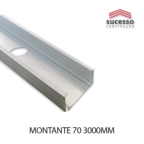 MONTANTE 70 3000MM
